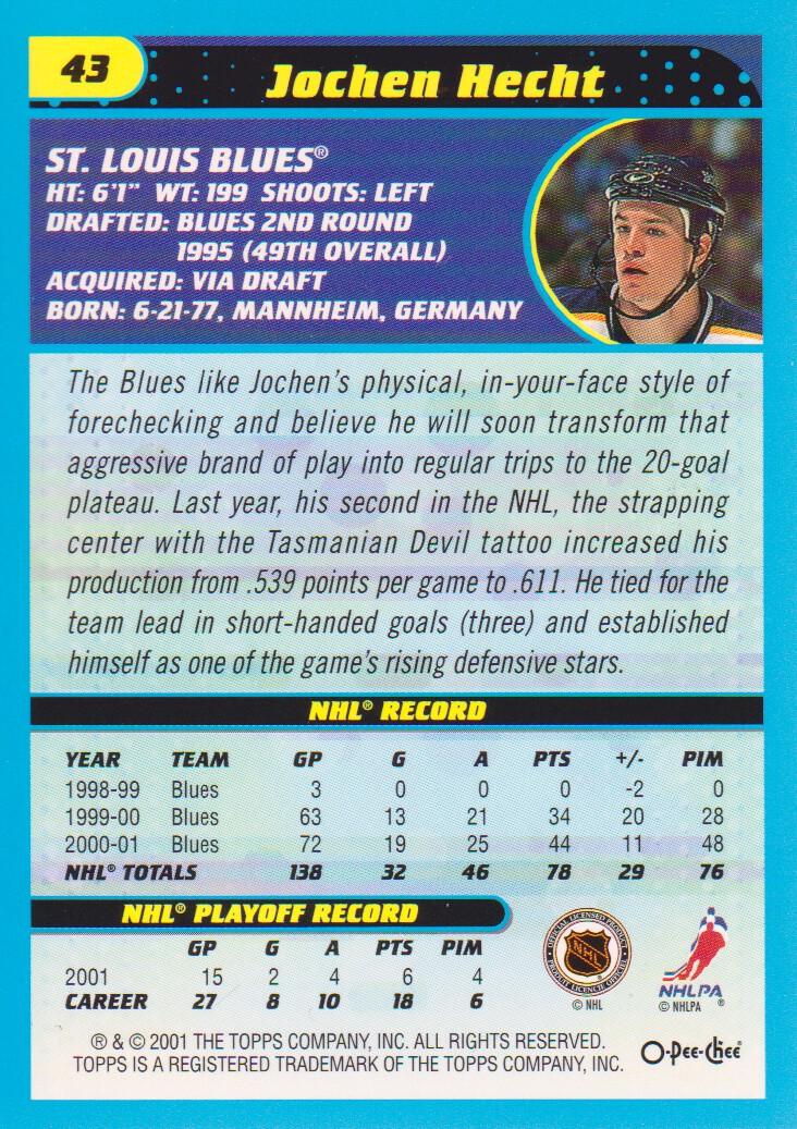 2001-02-O-Pee-Chee-OPC-Hockey-Cards-Pick-From-List thumbnail 21
