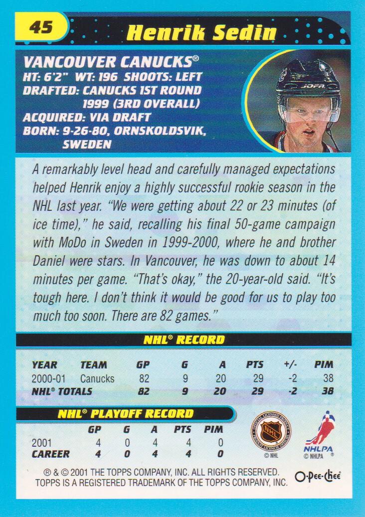 2001-02-O-Pee-Chee-OPC-Hockey-Cards-Pick-From-List thumbnail 23
