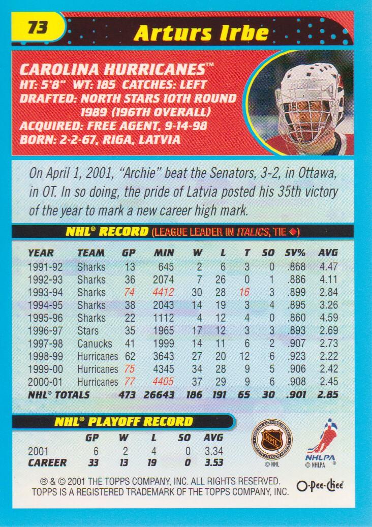 2001-02-O-Pee-Chee-OPC-Hockey-Cards-Pick-From-List thumbnail 31