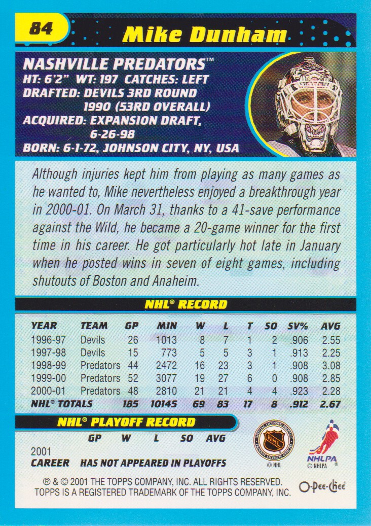 2001-02-O-Pee-Chee-OPC-Hockey-Cards-Pick-From-List thumbnail 35