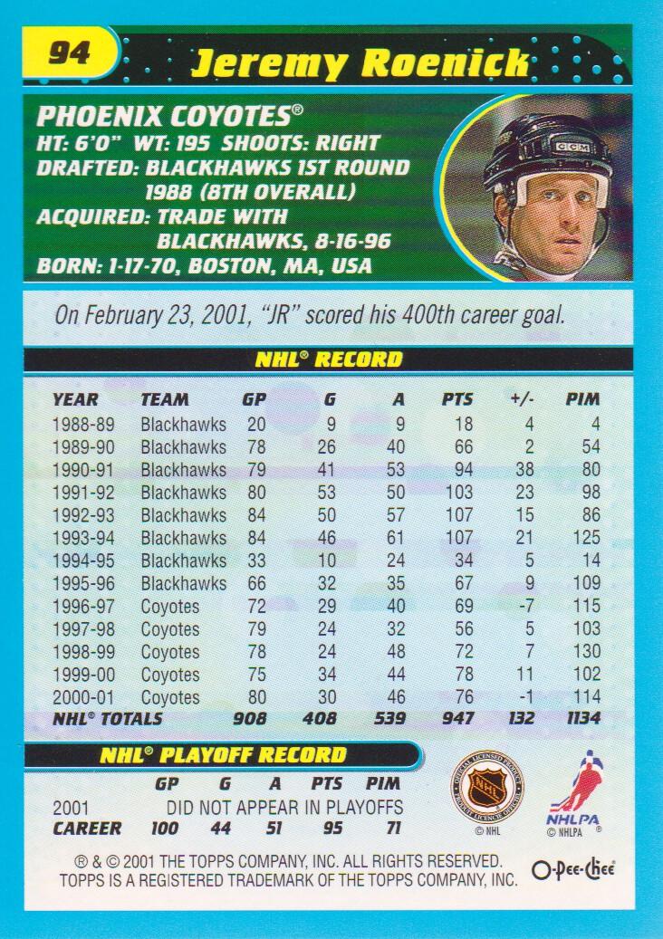 2001-02-O-Pee-Chee-OPC-Hockey-Cards-Pick-From-List thumbnail 43