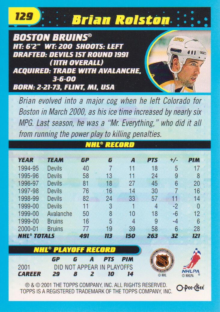 2001-02-O-Pee-Chee-OPC-Hockey-Cards-Pick-From-List thumbnail 63