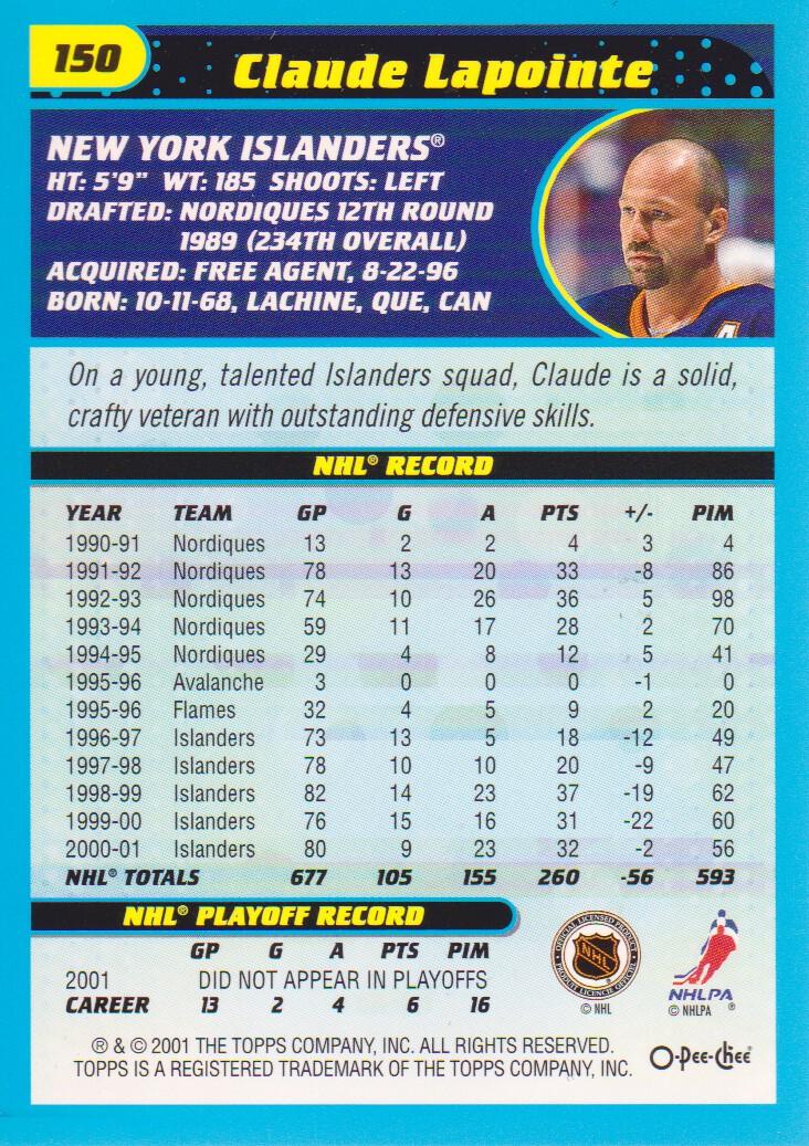 2001-02-O-Pee-Chee-OPC-Hockey-Cards-Pick-From-List thumbnail 69