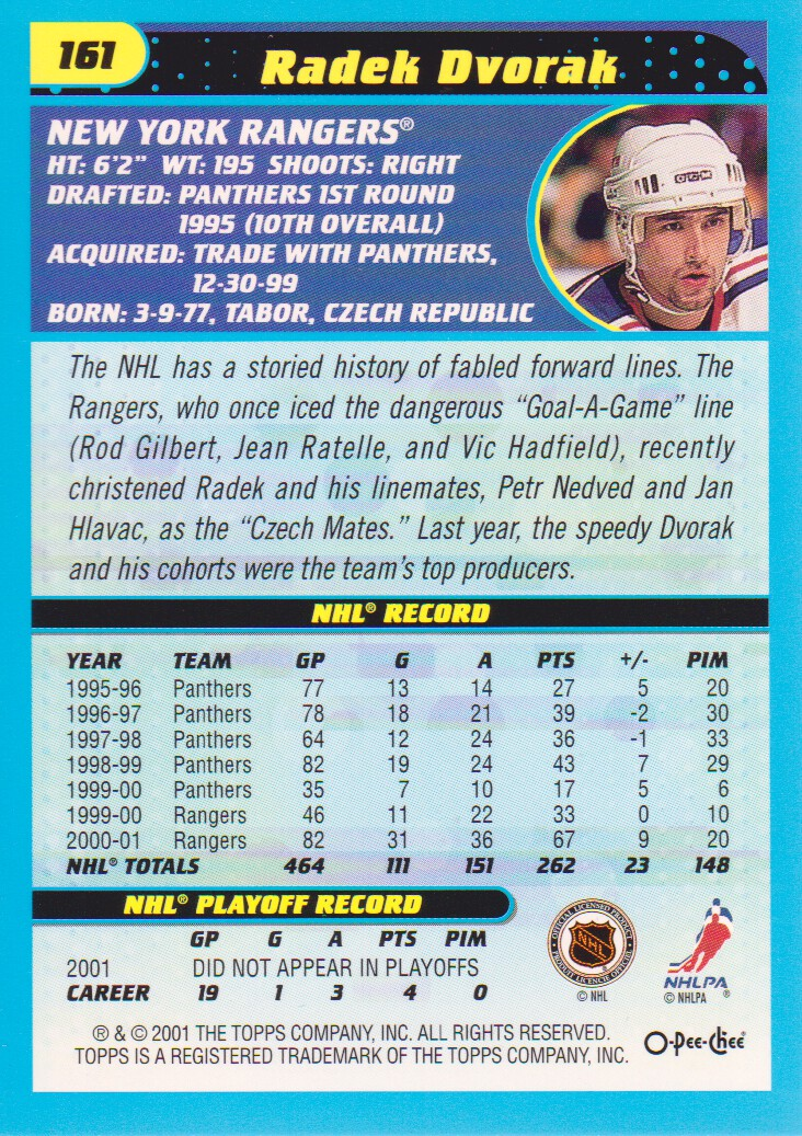 2001-02-O-Pee-Chee-OPC-Hockey-Cards-Pick-From-List thumbnail 73
