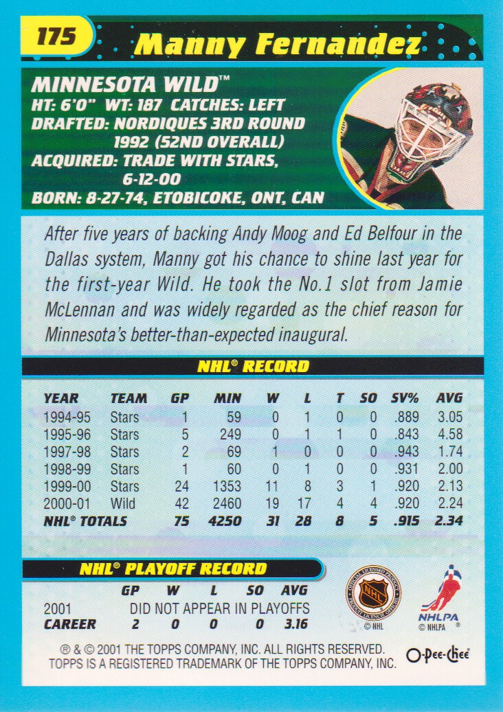 2001-02-O-Pee-Chee-OPC-Hockey-Cards-Pick-From-List thumbnail 91