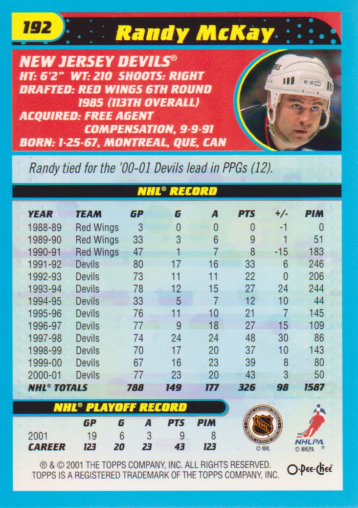 2001-02-O-Pee-Chee-OPC-Hockey-Cards-Pick-From-List thumbnail 95