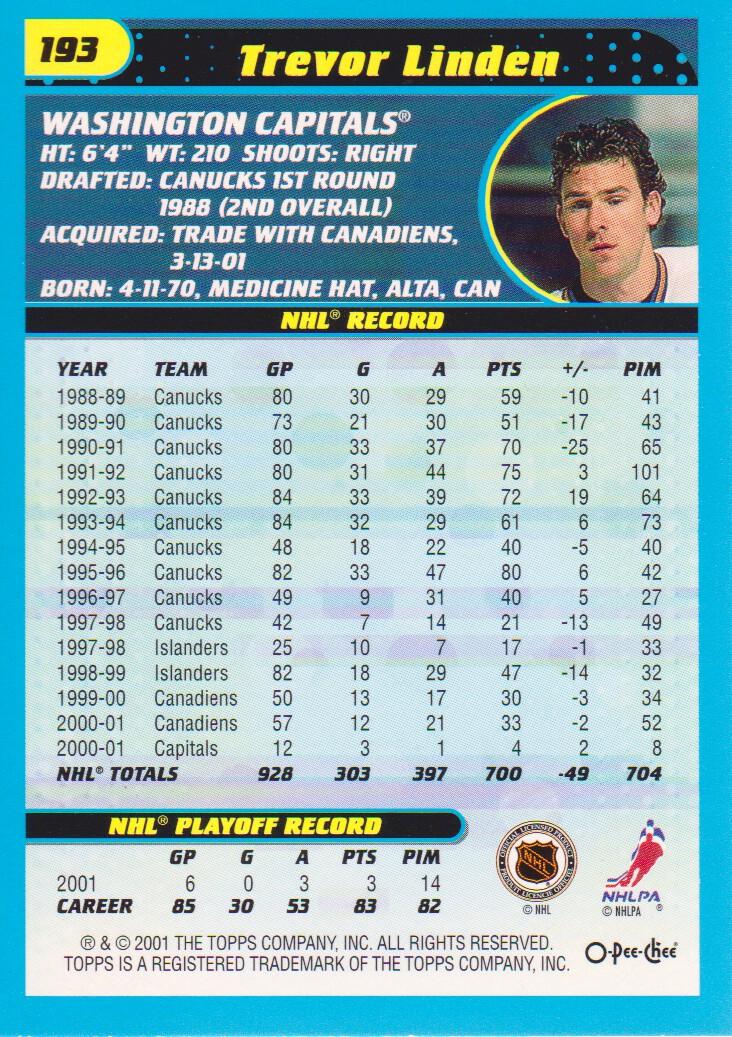 2001-02-O-Pee-Chee-OPC-Hockey-Cards-Pick-From-List thumbnail 97