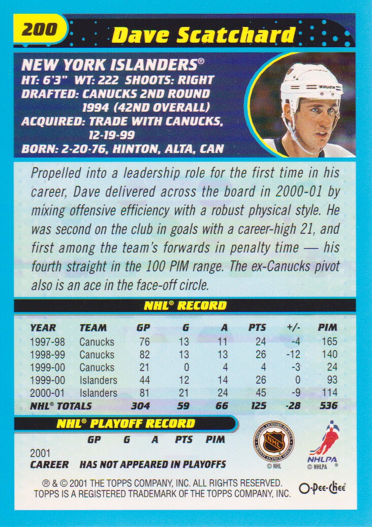 2001-02-O-Pee-Chee-OPC-Hockey-Cards-Pick-From-List thumbnail 105