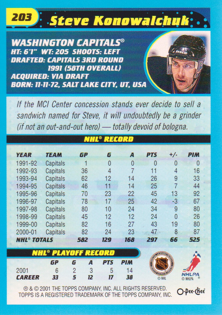 2001-02-O-Pee-Chee-OPC-Hockey-Cards-Pick-From-List thumbnail 107