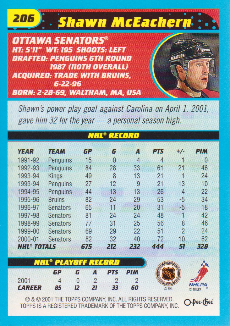 2001-02-O-Pee-Chee-OPC-Hockey-Cards-Pick-From-List thumbnail 109