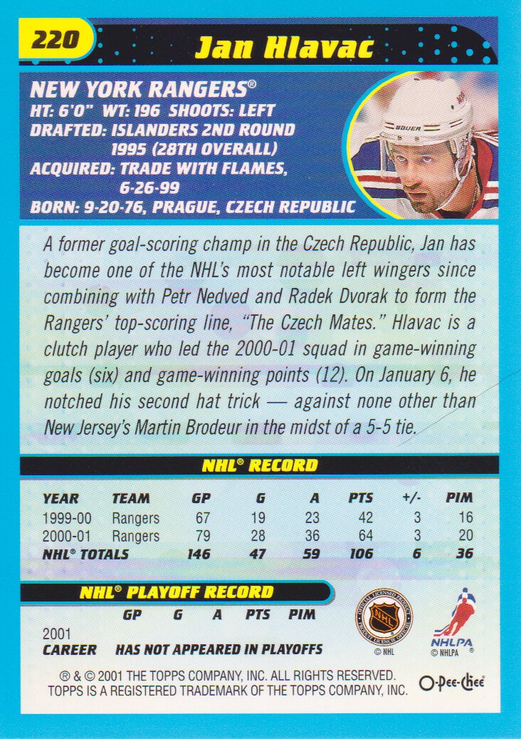 2001-02-O-Pee-Chee-OPC-Hockey-Cards-Pick-From-List thumbnail 115