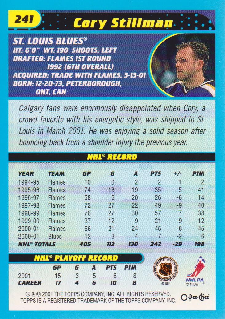 2001-02-O-Pee-Chee-OPC-Hockey-Cards-Pick-From-List thumbnail 123