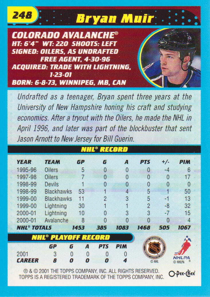 2001-02-O-Pee-Chee-OPC-Hockey-Cards-Pick-From-List thumbnail 127