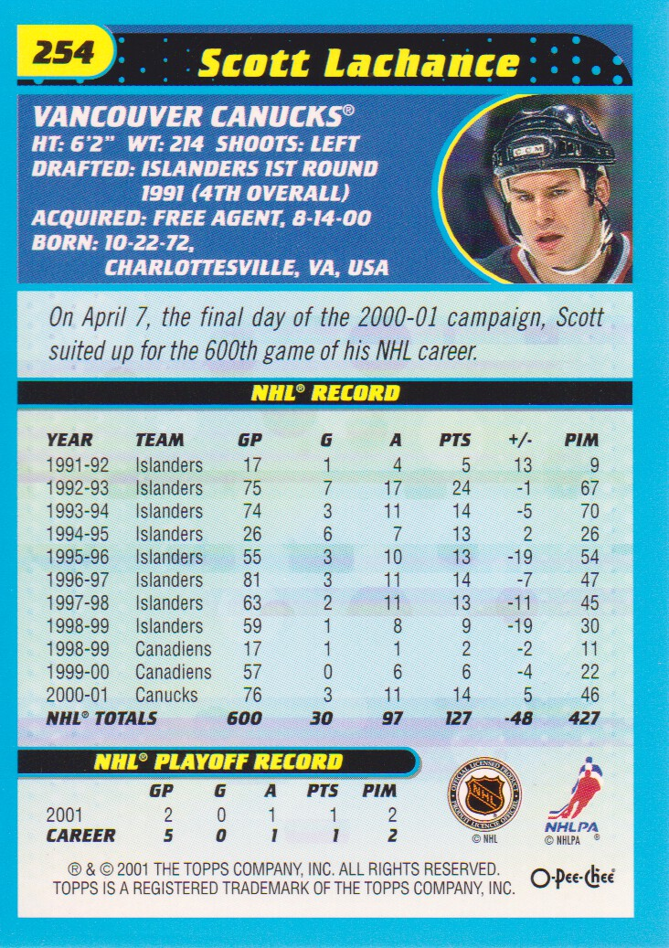 2001-02-O-Pee-Chee-OPC-Hockey-Cards-Pick-From-List thumbnail 131
