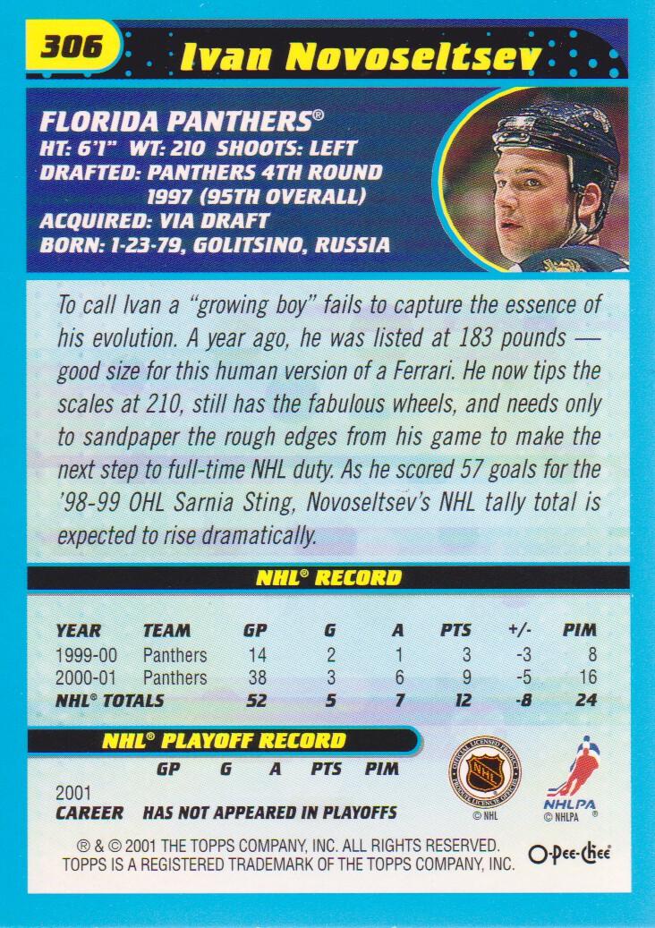 2001-02-O-Pee-Chee-OPC-Hockey-Cards-Pick-From-List thumbnail 153