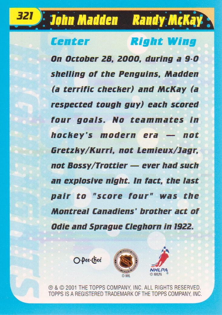 2001-02-O-Pee-Chee-OPC-Hockey-Cards-Pick-From-List thumbnail 163