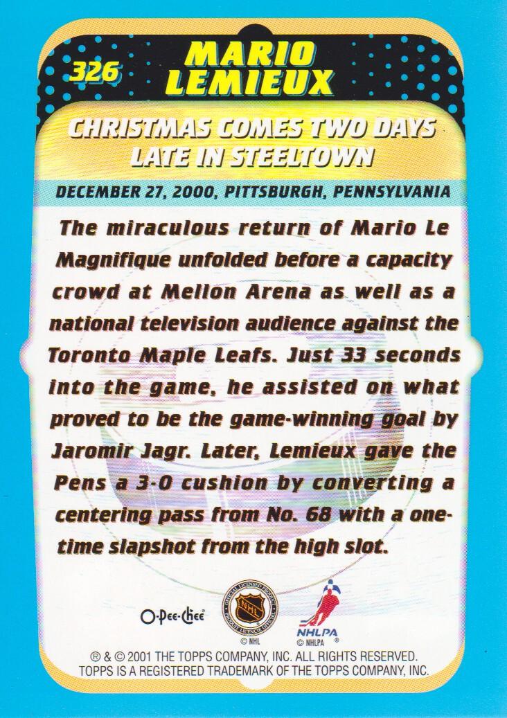 2001-02-O-Pee-Chee-OPC-Hockey-Cards-Pick-From-List thumbnail 167
