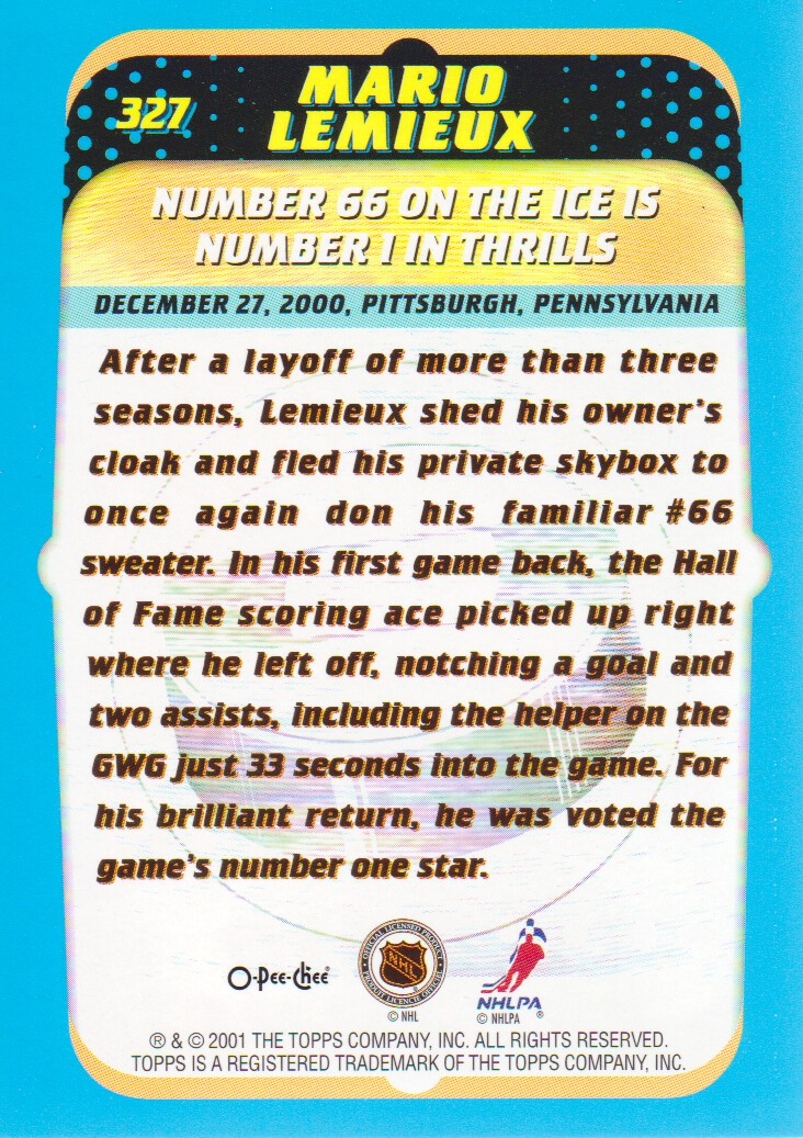 2001-02-O-Pee-Chee-OPC-Hockey-Cards-Pick-From-List thumbnail 169