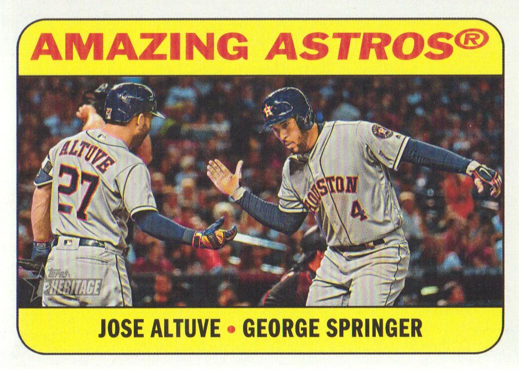 2018 Topps Full Houston Astros Team Set Springer Alex Bregman Jose Altuve 38
