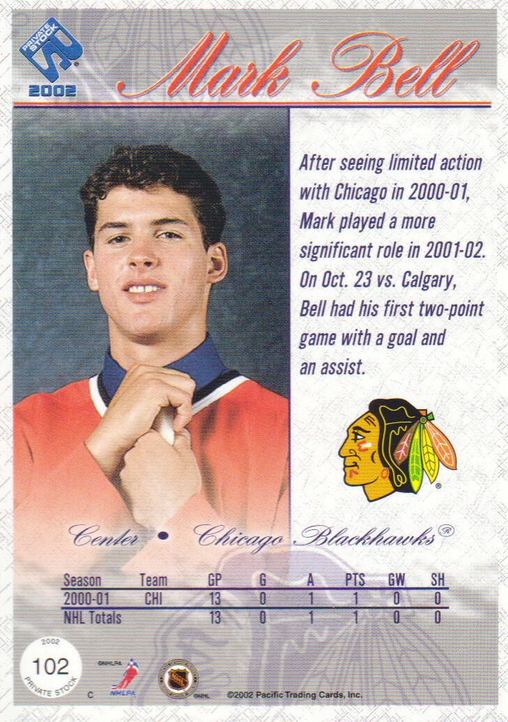 2001-02-Private-Stock-Hockey-Cards-Pick-From-List miniature 177