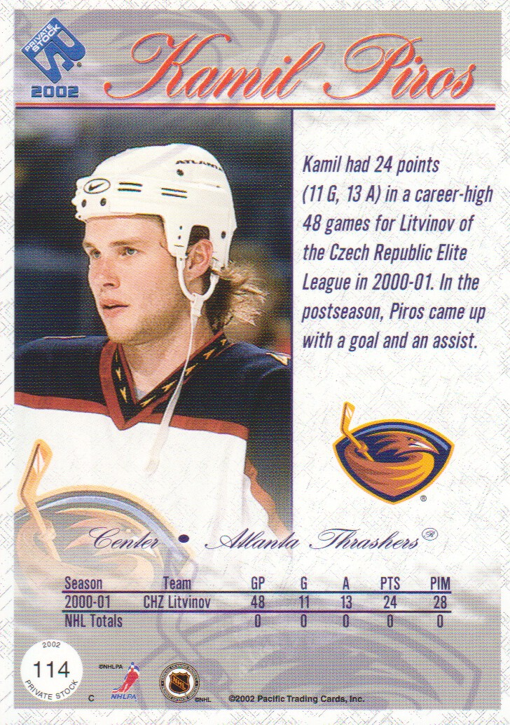 2001-02-Private-Stock-Hockey-Cards-Pick-From-List miniature 185