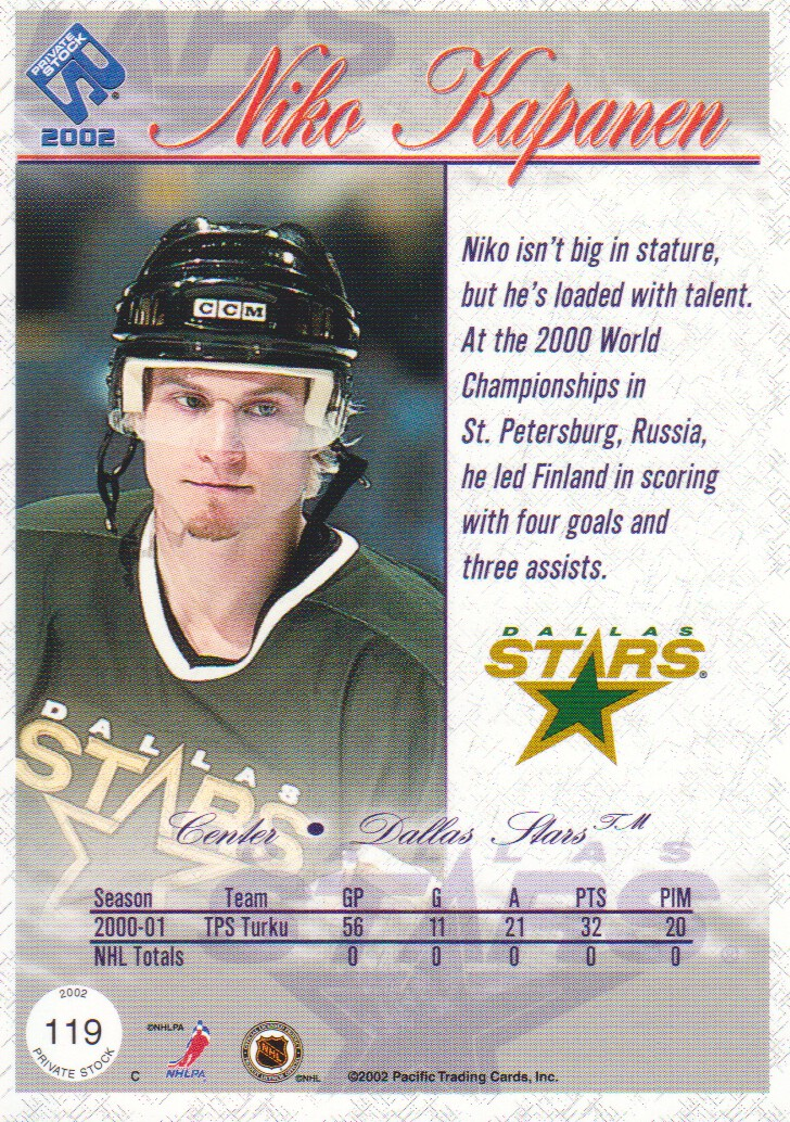 2001-02-Private-Stock-Hockey-Cards-Pick-From-List miniature 187