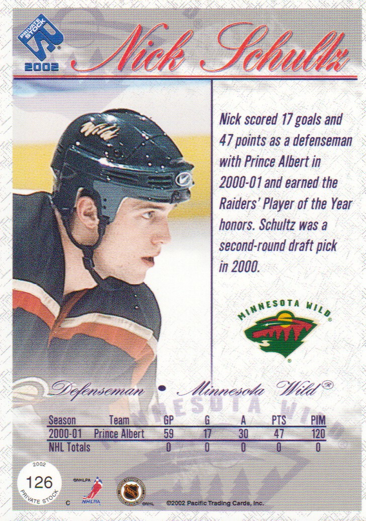 2001-02-Private-Stock-Hockey-Cards-Pick-From-List miniature 189