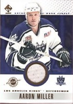 2001-02 Private Stock Game Gear #51 Aaron Miller