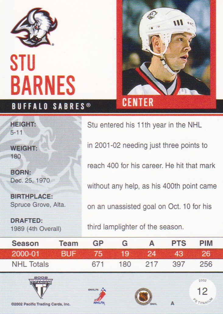2001-02-Titanium-Premiere-Date-Parallel-Hockey-Cards-Pick-From-List miniature 5