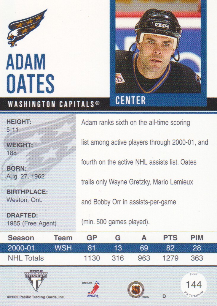 2001-02-Titanium-Premiere-Date-Parallel-Hockey-Cards-Pick-From-List miniature 7