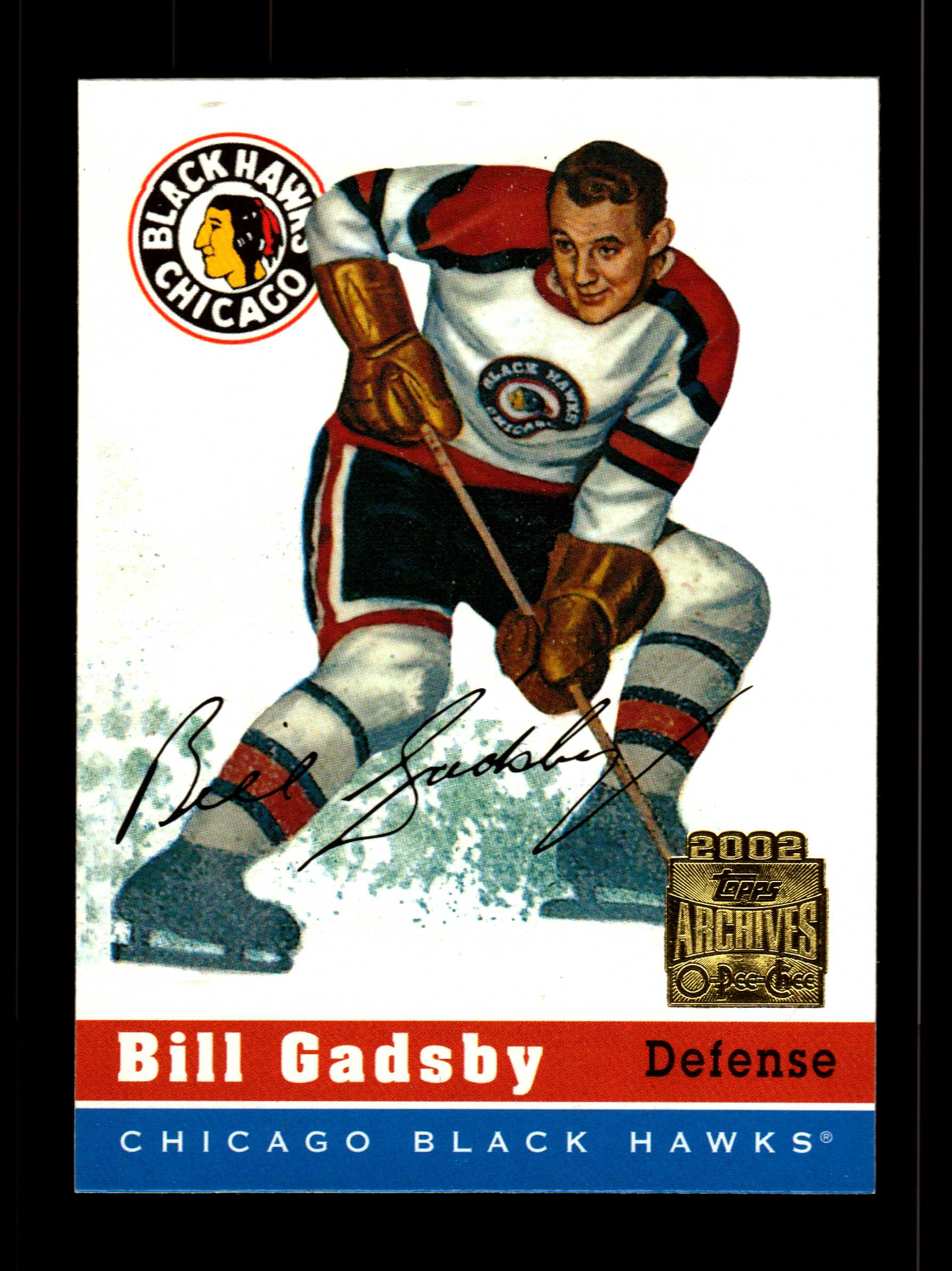 2001-02 Topps Archives #2 Bill Gadsby