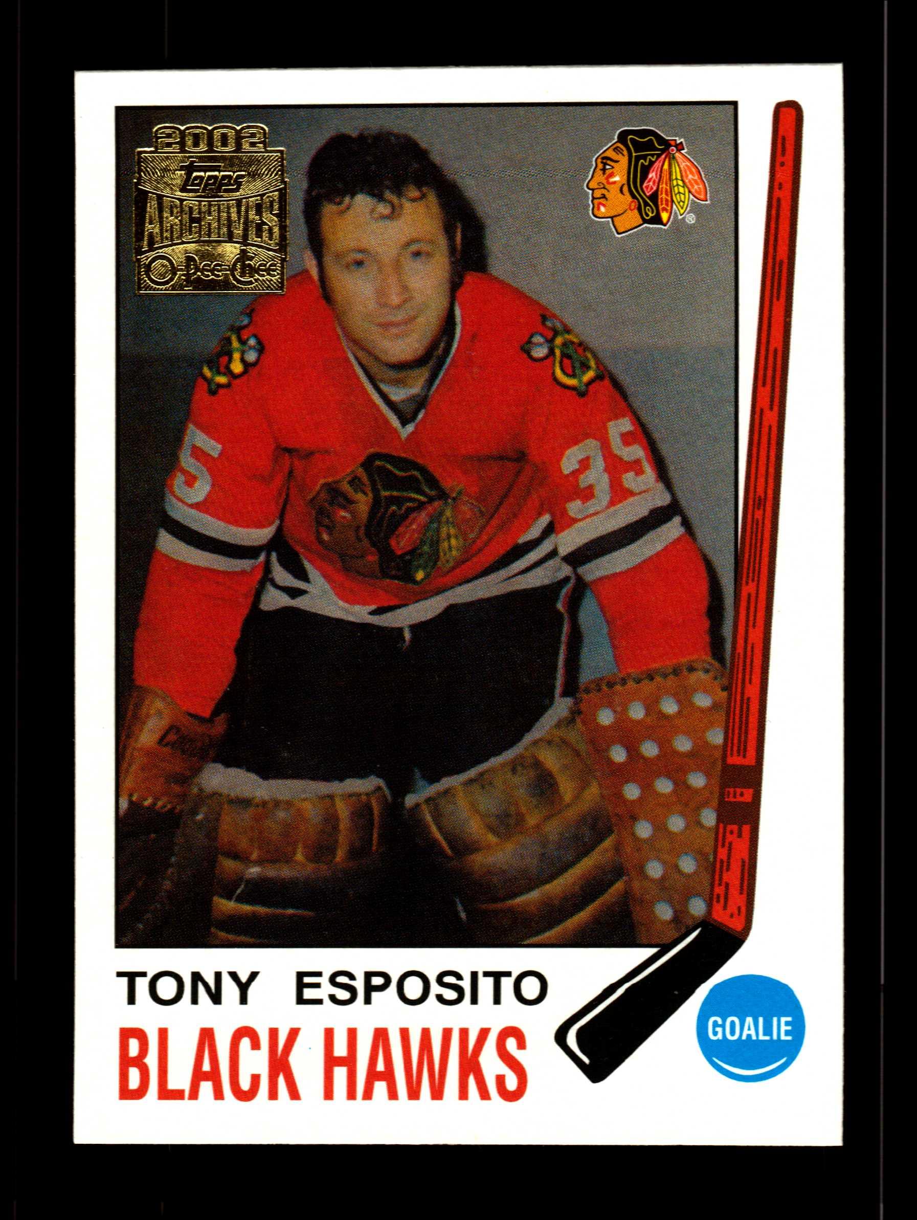 2001-02 Topps Archives #3 Tony Esposito