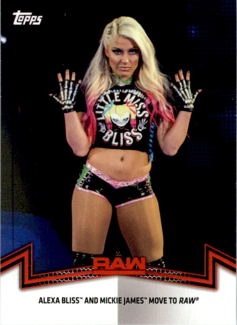 2019 Topps WWE Raw Wrestling Walker #49 Mickie James