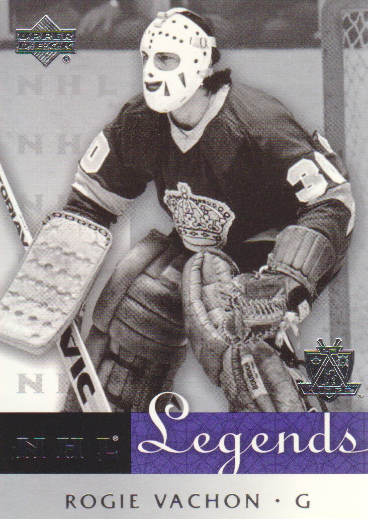 2001-02 Upper Deck Legends #29 Rogie Vachon