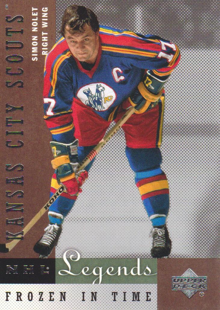 2001-02 Upper Deck Legends #74 Simon Nolet