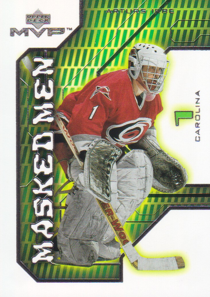 2001-02-Upper-Deck-MVP-Masked-Men-Hockey-Cards-Pick-From-List