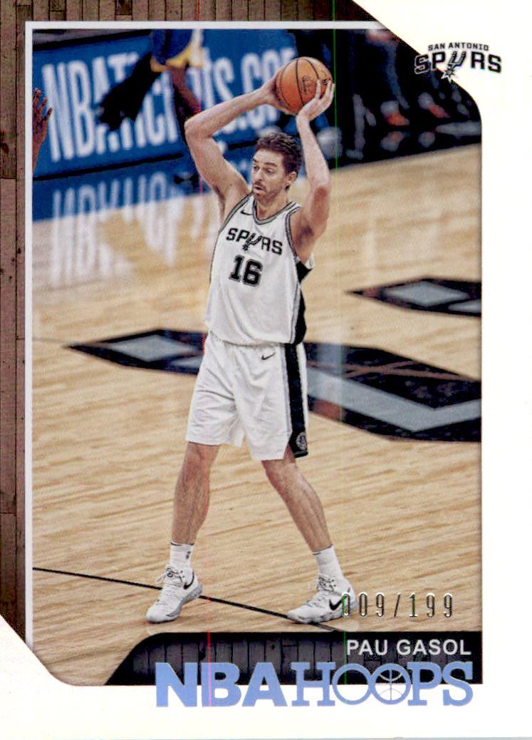 2019//20 Hoops Basketball Cox #105 Pau Gasol