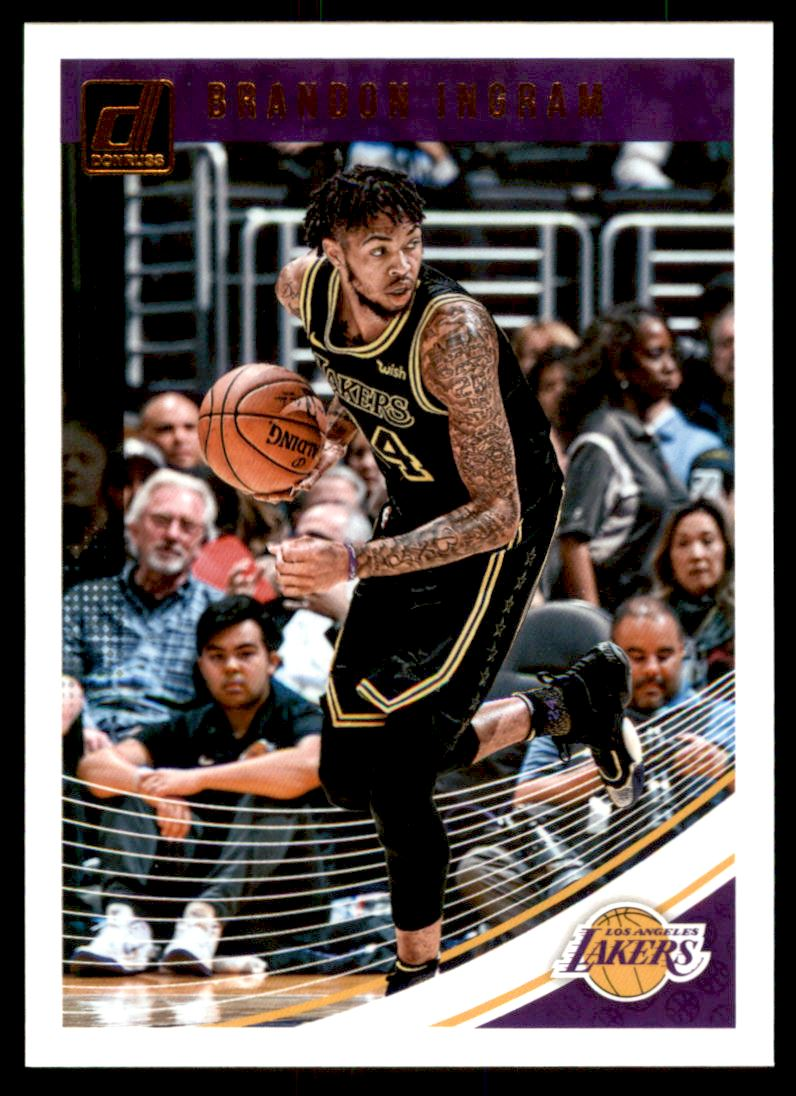12ed95717e5 2018-19 Donruss #64 Brandon Ingram | eBay