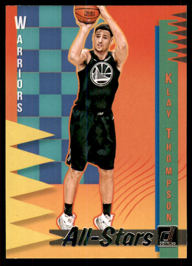 quality design cd8ae 00035 Details about 2018-19 Donruss All-Stars #17 Klay Thompson