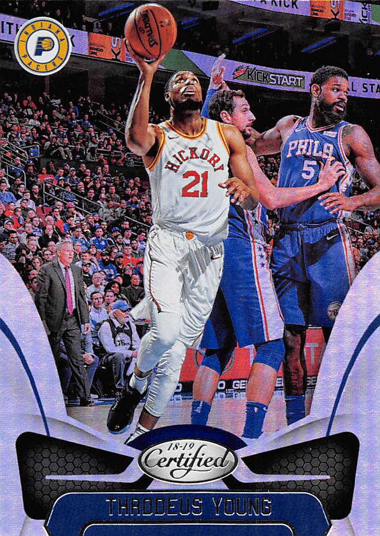 2018-19 Certified Mirror #94 Thaddeus Young