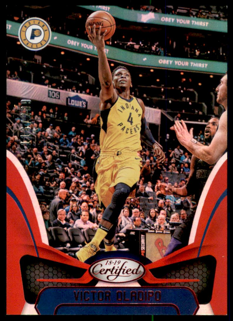 2018-19 Certified Mirror Red #90 Victor Oladipo