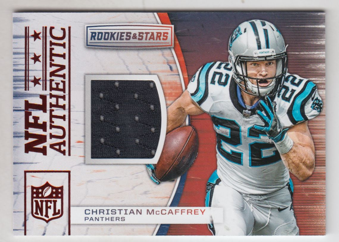 2018 Rookies and Stars NFL Authentic Jerseys  18 Christian McCaffrey Jersey 8f0ff28a3