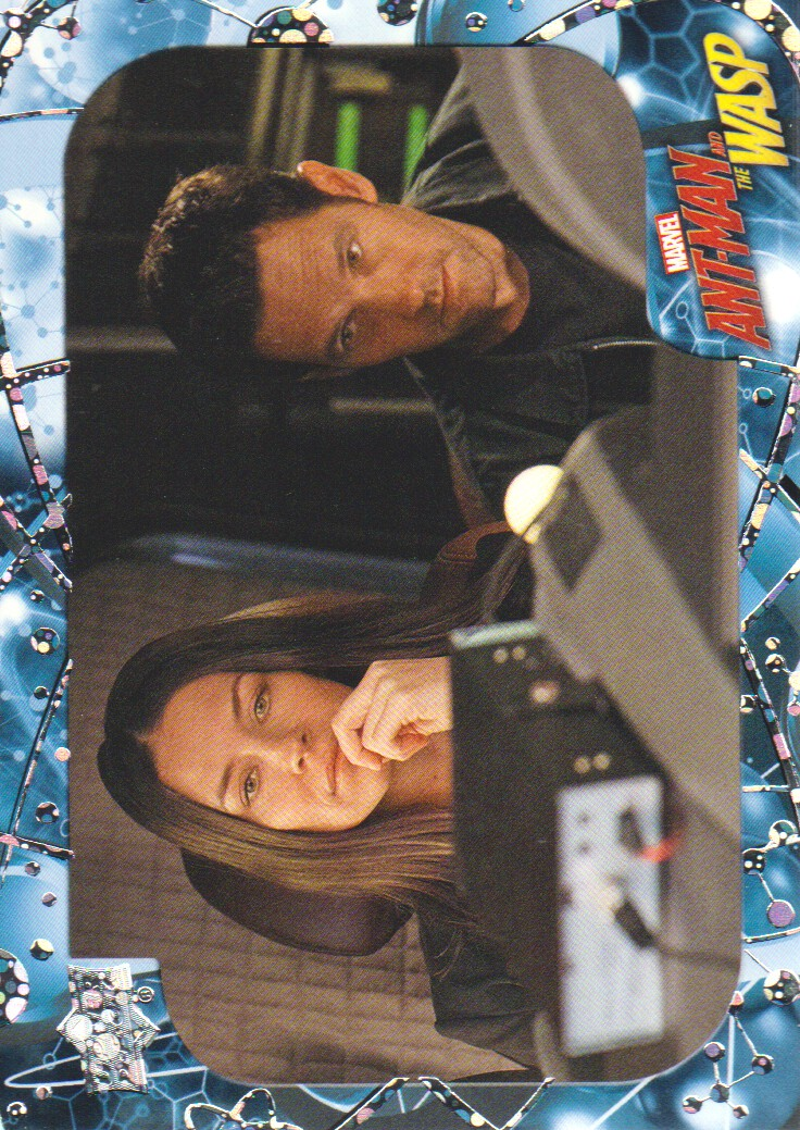Upper Deck Marvel Ant Man And The Wasp Card Stakeout Ebay