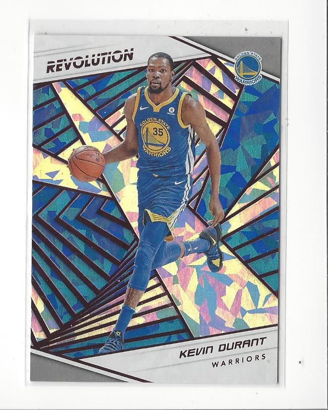 pretty nice d882e d731c Details about 2018-19 Panini Revolution Chinese New Year #18 Kevin Durant  Warriors