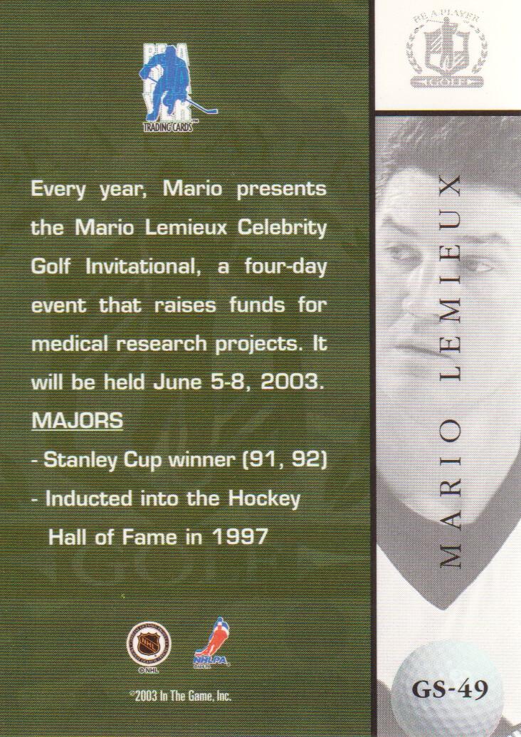 2002-03-BAP-Signature-Series-Golf-Hockey-Cards-Pick-From-List miniature 11