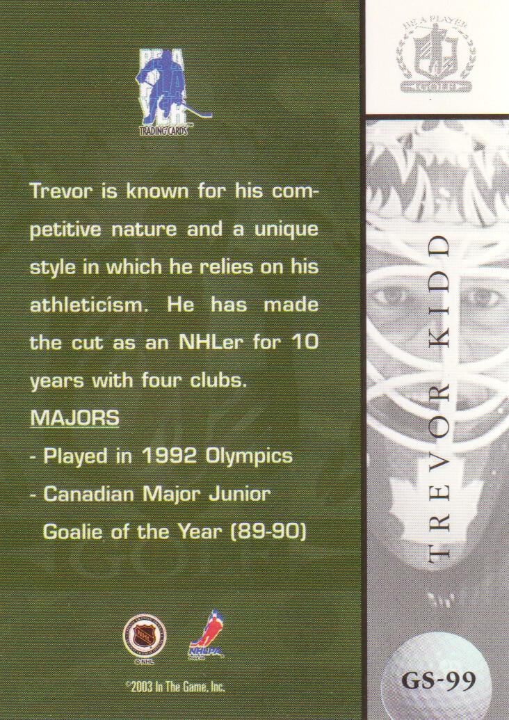2002-03-BAP-Signature-Series-Golf-Hockey-Cards-Pick-From-List miniature 21