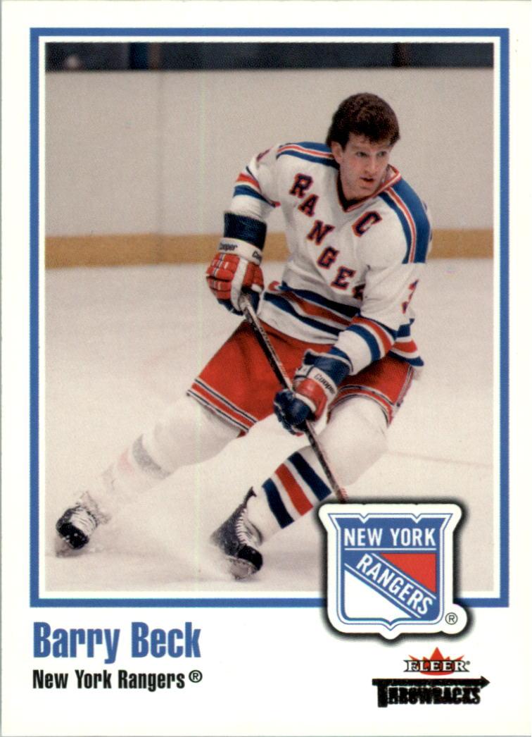 2002-03 Fleer Throwbacks #2 Barry Beck