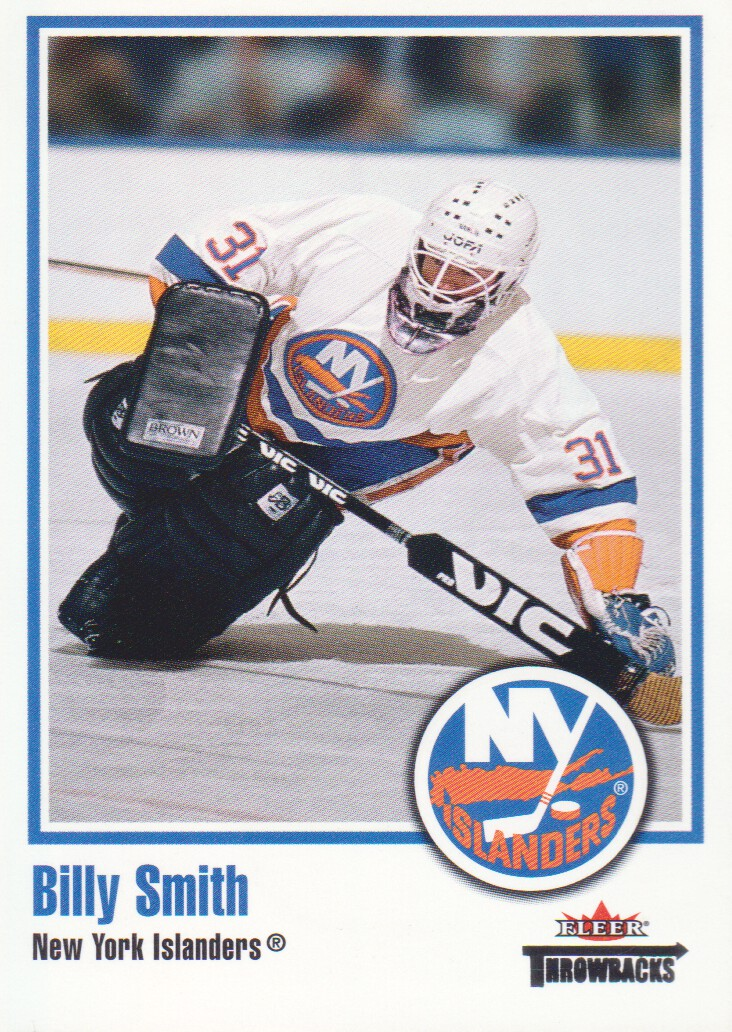 2002-03 Fleer Throwbacks #54 Billy Smith