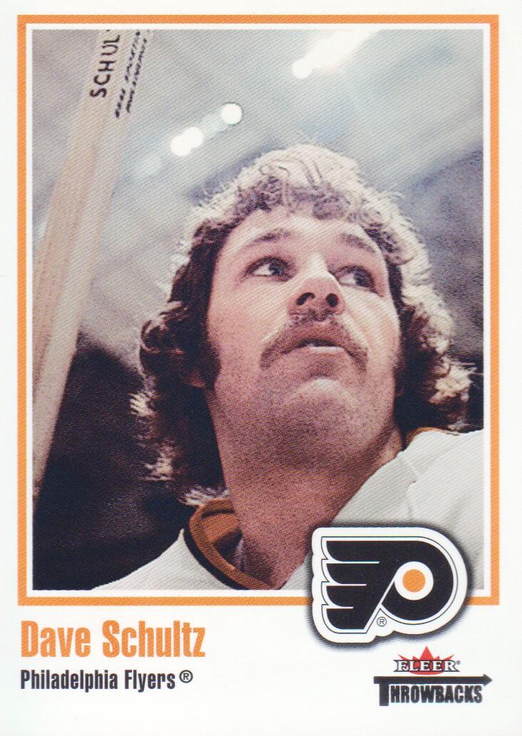 2002-03 Fleer Throwbacks #67 Dave Schultz