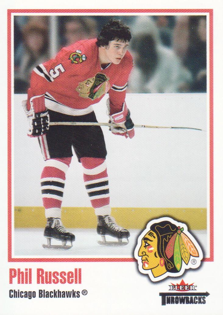 2002-03 Fleer Throwbacks #71 Phil Russell